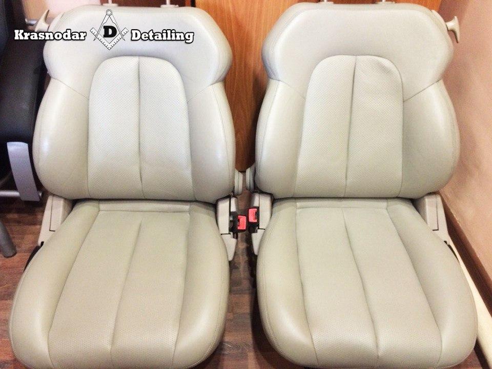 перешивка и покраска сидений авто